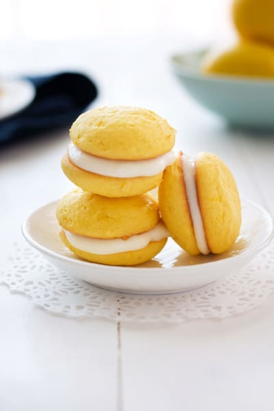 Lemon Ricotta Sandwich Cookies Picture