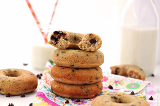 Chocolate Chip Donuts Photo