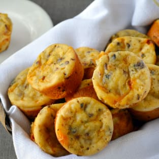 Omelet muffins photo