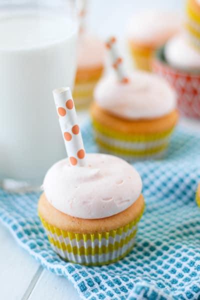 Orange Creamsicle Cupcakes Image