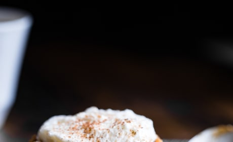Paleo Pumpkin Lava Cakes Pic