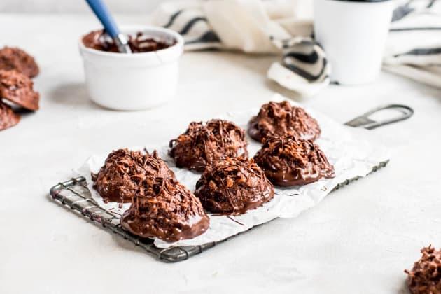 Double Chocolate Macaroons Photo