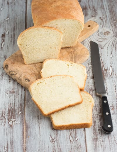 Simple White Bread Picture