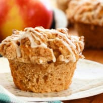 Apple Muffins with Crumb Topping Recipe