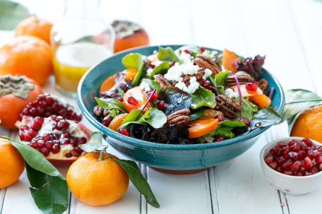 Winter Salad with Citrus Vinaigrette Photo