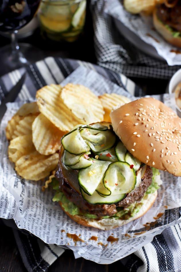 Miso Glazed Burger Picture