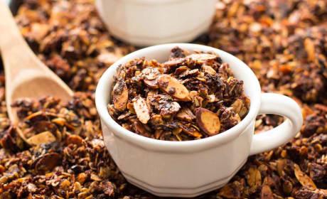 Nutella Almond Granola Recipe