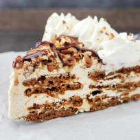 Gingersnap Turtle Icebox Cake Recipe