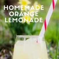 Best Orange Lemonade Ever!