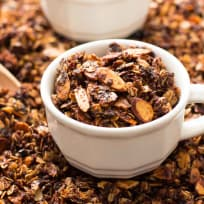 Nutella Almond Granola Recipe