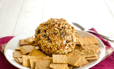 Blue Cheese Cranberry Cheese Ball Photo