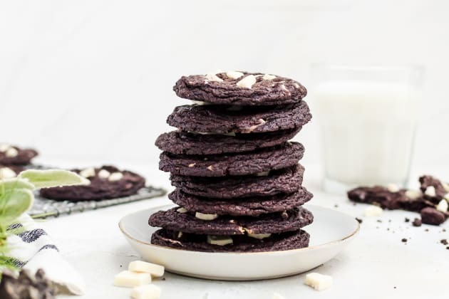 Peppermint Chocolate Cookies Photo