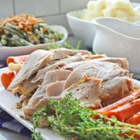 Instant Pot Turkey Breast with Carrots and Homemade Gravy Recipe