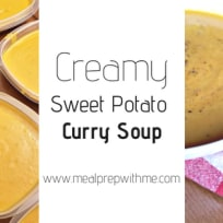 Creamy Sweet Potato Curry Soup Recipe