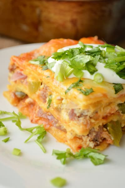 File 1 Enchilada Breakfast Casserole