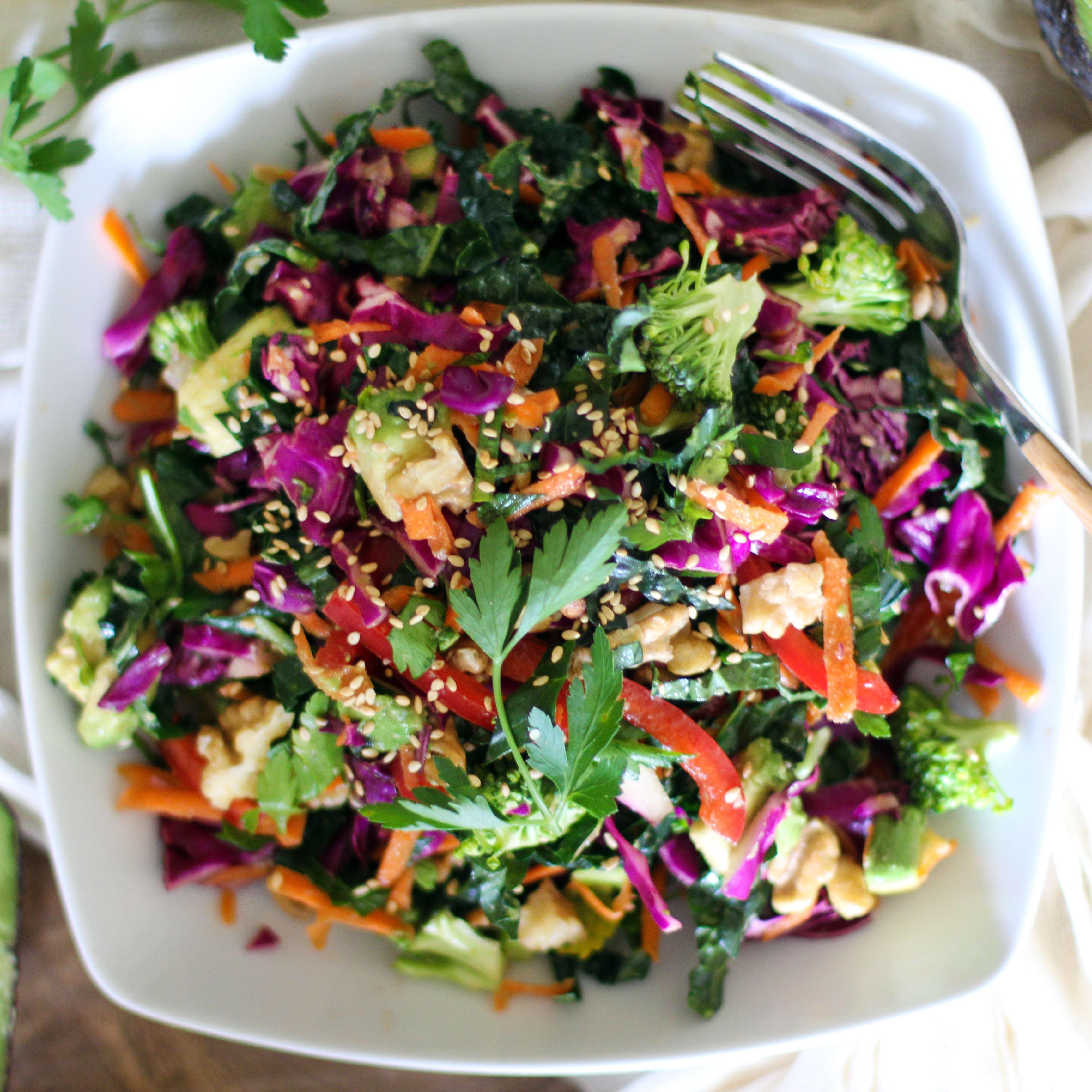 Detox kale salad recipe food fanatic forumfinder Gallery