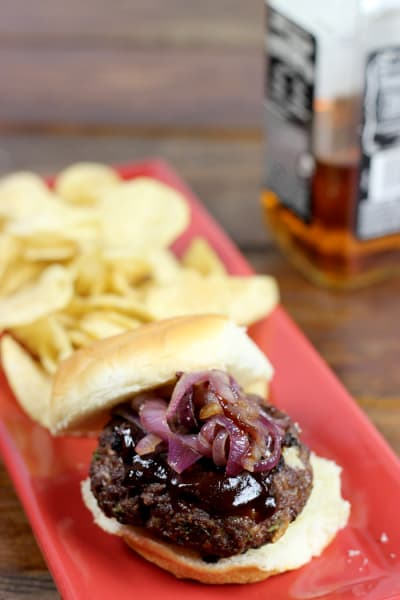 Whiskey Barbecue Burger Picture