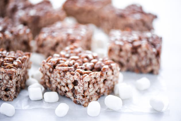 Gluten Free Chocolate Rice Krispie Treats Image