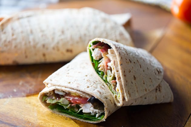 Cobb Salad Wrap Photo