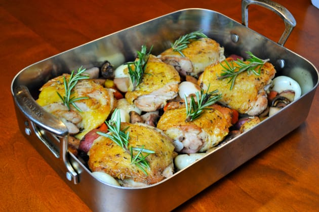 Pan Roasted Chicken Thighs Picture