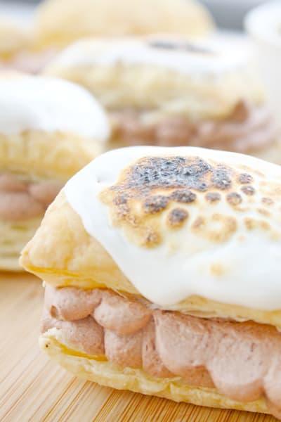 Toasted Marshmallow Napoleons Image