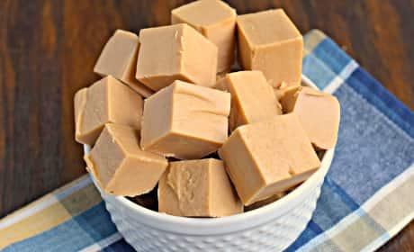 Maple Peanut Butter Fudge Recipe