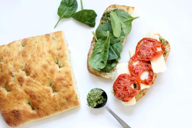 Decorated Focaccia Bread Recipe