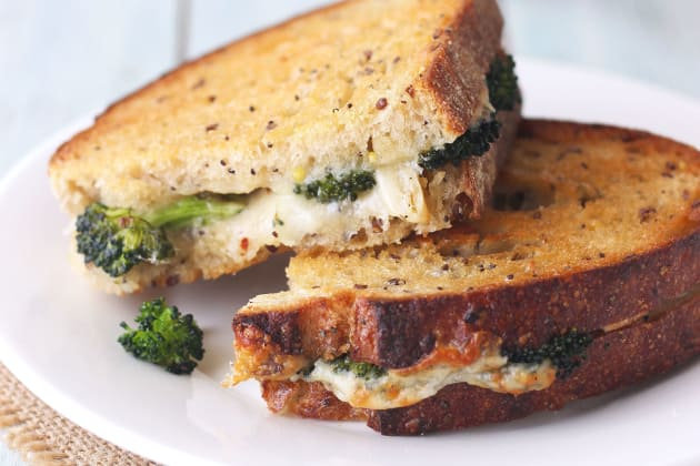 Toaster Oven Grilled Cheese Sandwich Photo