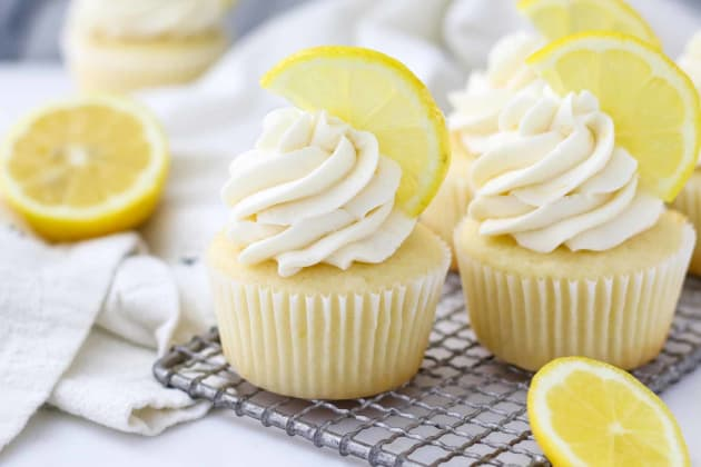 Lemon Cupcake Recipe Photo