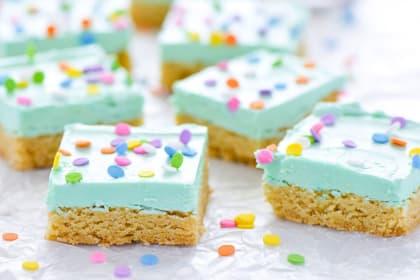 Gluten Free Sugar Cookie Bars