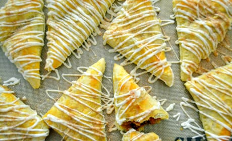 Pumpkin Cookie Dough Turnovers Recipe