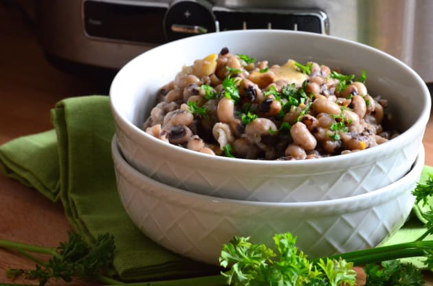 Slow Cooker Black Eyed Peas Photo