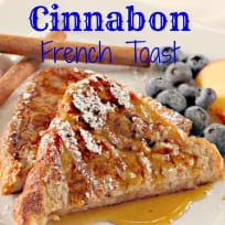 Cinnabon French Toast