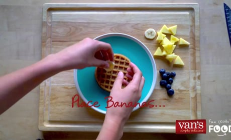 How to Make Sun Waffles