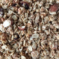 Easy Granola with Olive oil and Maple Syrup