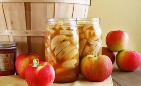 Apple Pie Filling Photo