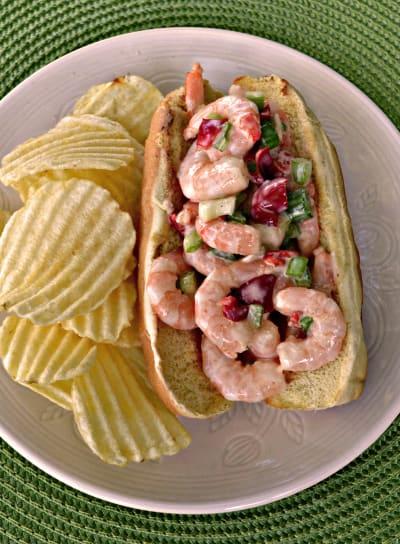 Shrimp Salad Sandwich Picture