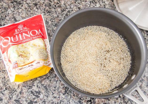 Soaking Quinoa Photo