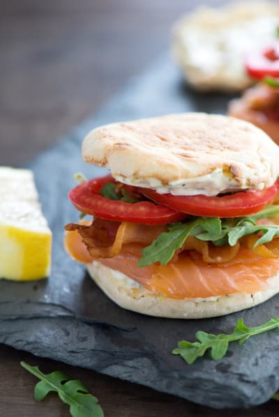 Smoked Salmon BLT Picture