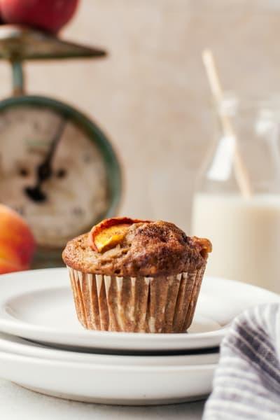 Peach Cinnamon Muffins Picture