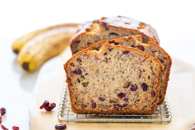 Gluten Free Cranberry Banana Bread Photo