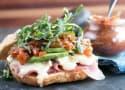 Avocado Prosciutto Brie Sandwiches