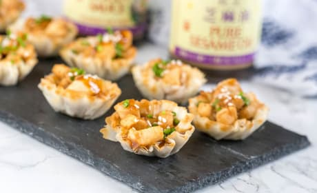 Hoisin Glazed Chicken Cups Photo