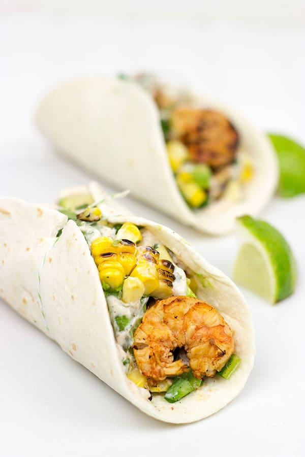 Southwest Shrimp Tacos Picture