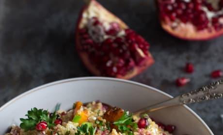 Roasted Butternut Squash Quinoa Salad Pic