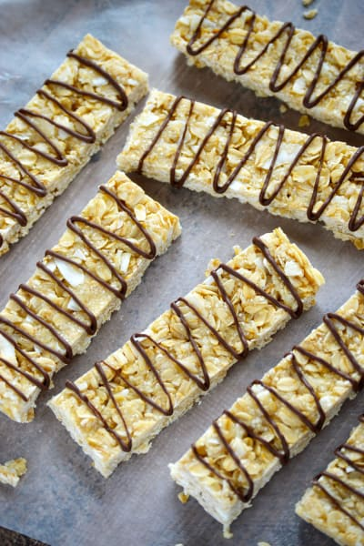 No Bake Granola Bars Image