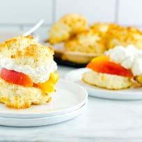 Gluten Free Peach Shortcake Recipe