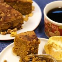 Instant Pot Gluten Free Pumpkin Coffee Cake