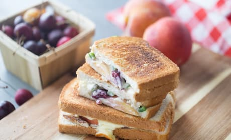 Chicken Grilled Cheese Recipe