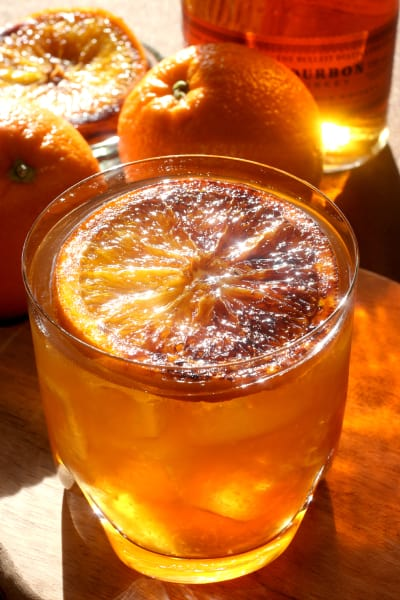 Charred Orange Whiskey Picture